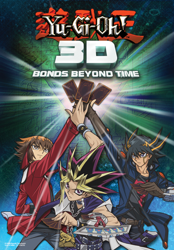 Yugioh 3D: Bonds Beyond Time US Movie Poster