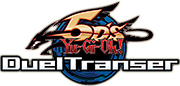 Yu-Gi-Oh! 5D's Duel Transfer (Wii) US Logo Image [Click for full size image]