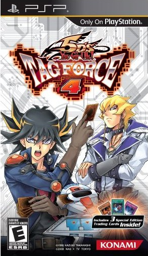 Yu-Gi-Oh! 5D's Tag Force 4: Box Art [Click for full size image]
