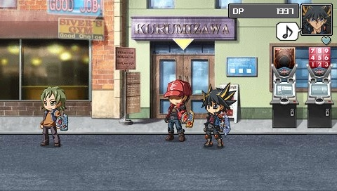 ScreenShot: Yu-Gi-Oh! 5D's Tag Force 4