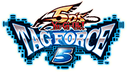 Yu-Gi-Oh! 5Ds Tagforce 5 (PSP) US Logo Image [Click for full size image]