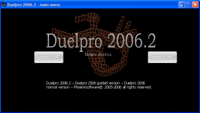 Duelpro 2006.2 Calc
