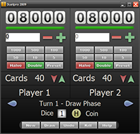 Screenshot Duelpro 2009, the newest version of Duelpro for Windows - Click for full size image.