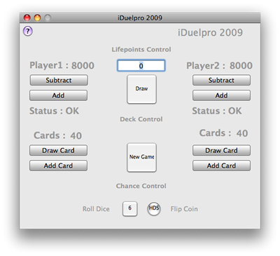 iDuelpro 2009 for Mac OS