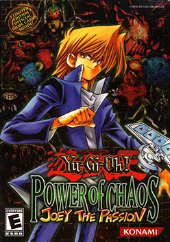 Yu-Gi-Oh! Power of Chaos: Joey the Passion box Image [Click for full size image]
