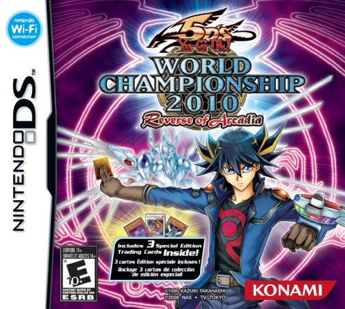 Yugioh 5D's World Championships 2010: Reverse of Arcadia Box Art Image [Click for full size image]