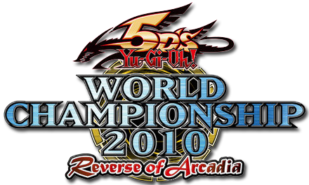 Yugioh 5D's World Championships 2010: Reverse of Arcadia logo Image [Click for full size image]