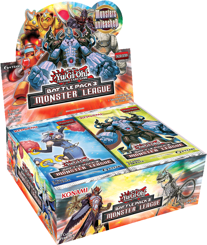 Battle Pack 3: Monster League Display Box