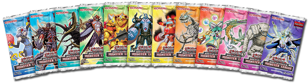 Battle Pack 3: Monster League - Yu-Gi-Oh! TRADING CARD GAME (TCG) booster set