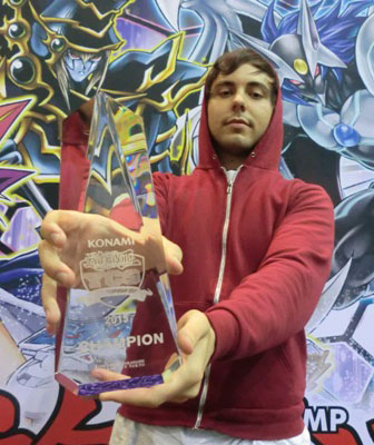 Barrett Arthur Keys from North Hollywood, CA claimed the coveted title of YCS Champion