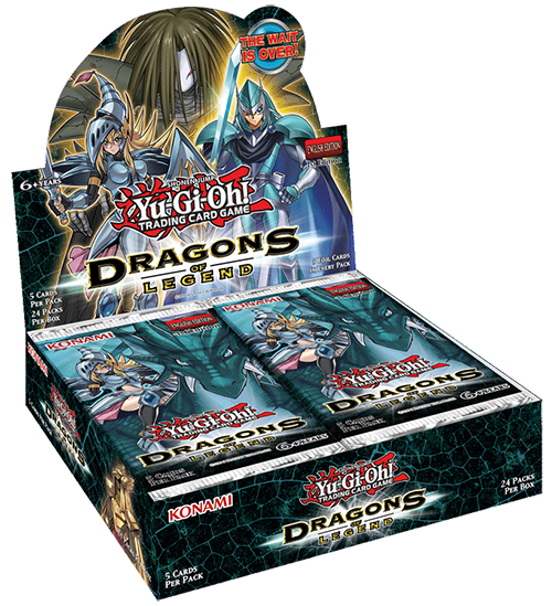 the Dragons of Legend booster set