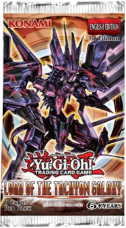 Yu-Gi-Oh! TRADING CARD GAME Lord of the Tachyon Galaxy booster set