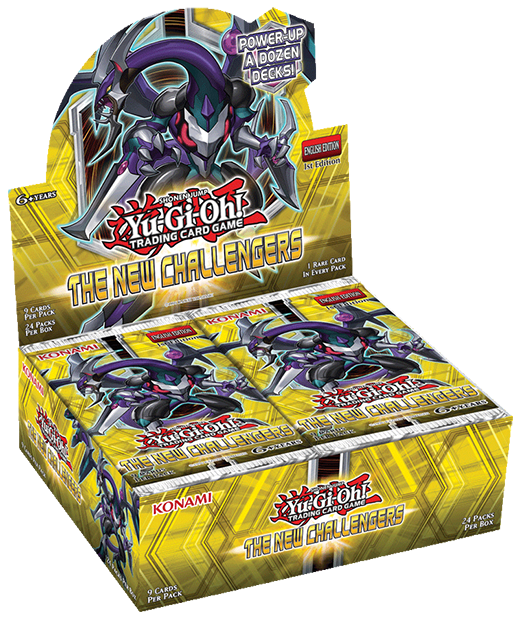 Yu-Gi-Oh! TRADING CARD GAME (TCG) - The New Challengers booster set box
