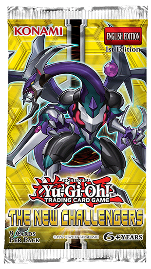 Yu-Gi-Oh! TRADING CARD GAME (TCG) - The New Challengers booster set
