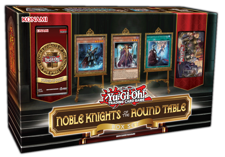 Yu-Gi-Oh! TRADING CARD GAME (TCG) - Noble Knights of the Round Table Box Set