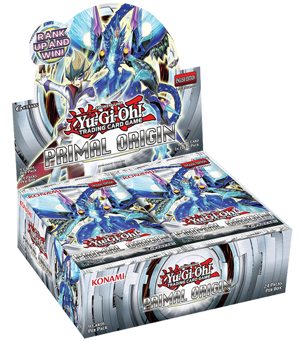 Yu-Gi-Oh! TRADING CARD GAME (TCG) Primal Origin booster set