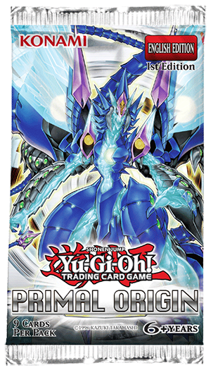 Yu-Gi-Oh! TRADING CARD GAME (TCG) Primal Origin nine-card booster pack