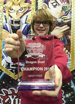 Garrett Reid Price from Redmond, WA took home the Dragon Duel Championship
