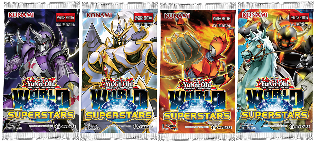 Yu-Gi-Oh! TRADING CARD GAME (TCG) World Superstars booster set