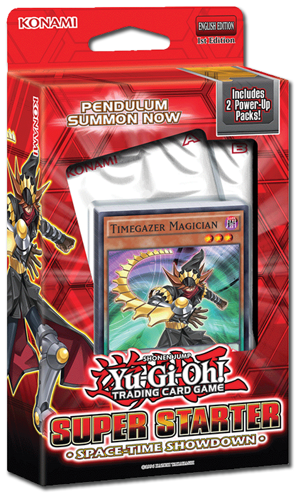 Yu-Gi-Oh! TRADING CARD GAME (TCG) Super Starter: Space-Time Showdown