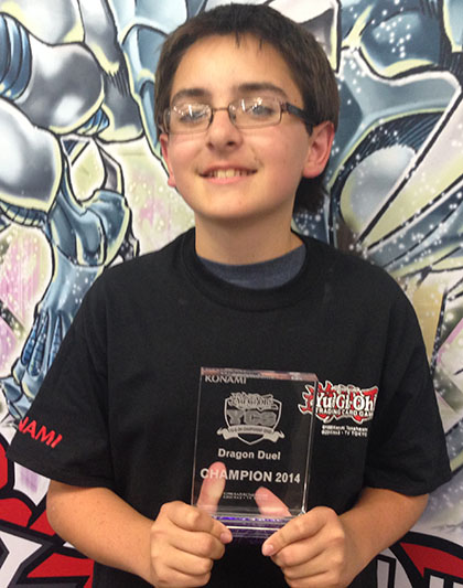 Yu-Gi-Oh! CHAMPIONSHIP SERIES (YCS) Dragon Duel event Anaheim, CA - Kenneth Bevens from Camarillo, CA