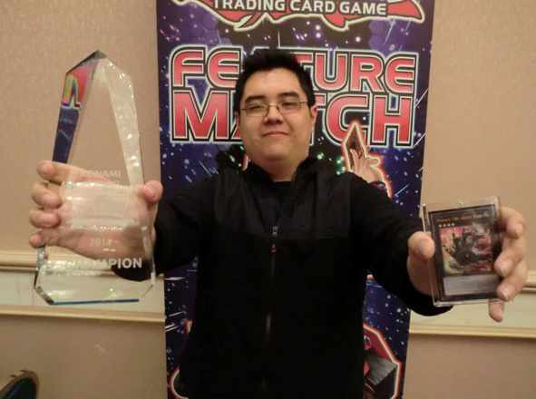 Yu-Gi-Oh! CHAMPIONSHIP SERIES Chicago Main Event winner Thomas Mak
