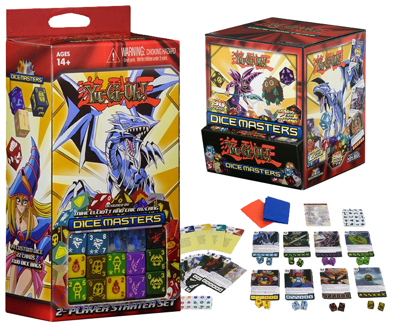 The Yu-Gi-Oh! Dice Masters 2-Player Starter Set and more!