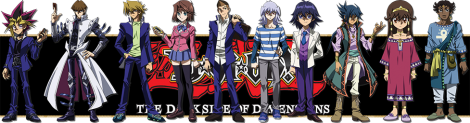 YuGiOh! The Dark Side of Dimensions characters