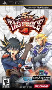 Yu-Gi-Oh! 5D's Tag Force 4 box us