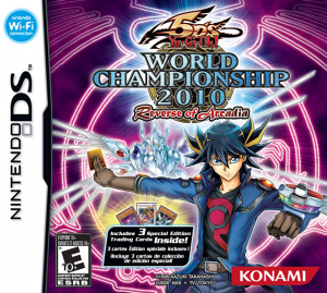 5ds World Championship 2010: Reverse of Arcadia box us