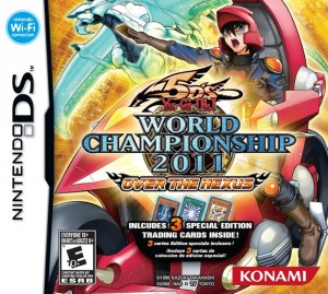 Yu-Gi-Oh 5D's World Championship 2011: Over The Nexus box us
