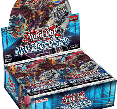 TCG booster set, High-Speed Riders, Releases Oct 2, 2015