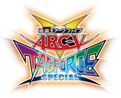Yu-Gi-Oh! Arc-V Tag Force Special jp logo