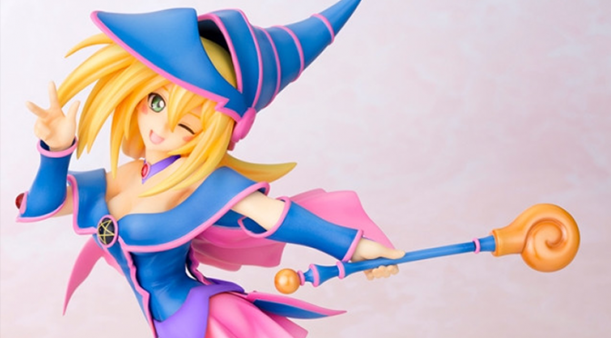 "Kotobukiya Previews Black Magician Girl Figure from New ""Yu-Gi-Oh!"" Feature Film"