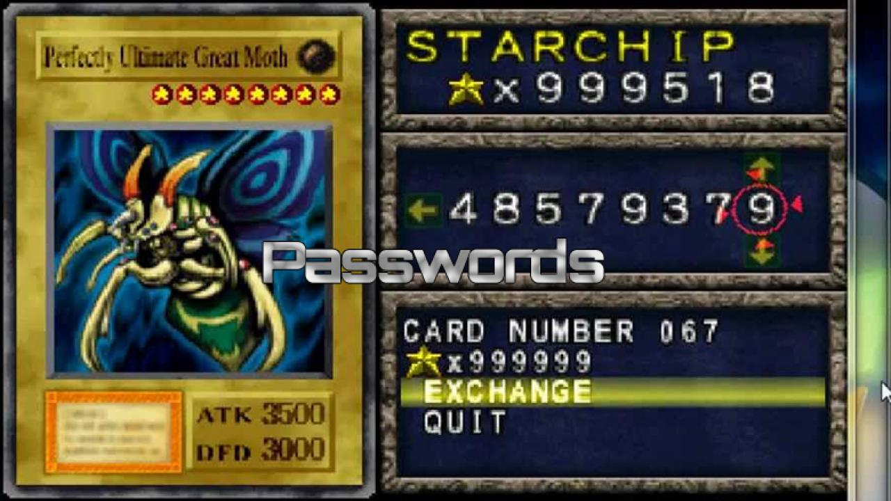 Forbidden Memories Passwords   YuGiOh! World