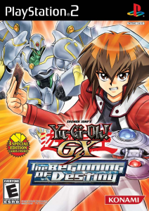 Yu-Gi-Oh! GX The Beginning of Destiny box usa