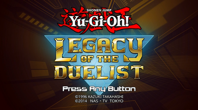 YuGiOh! Legacy of the Duelist on PS4 sale begins Thursday 11/26!