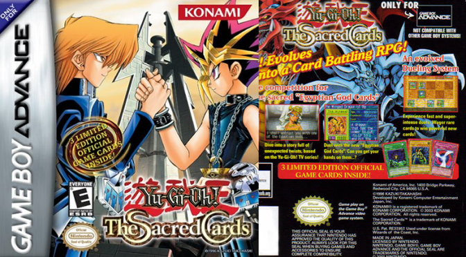 Yu-Gi-Oh! The Sacred Cards header