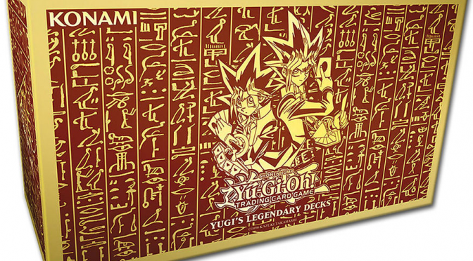 Yu-Gi-Oh! Trading Card Game Yugi's Legendary Decks Drop Nov 13th