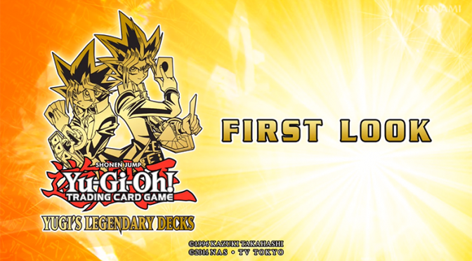 Yugi's Legendary Decks First Look