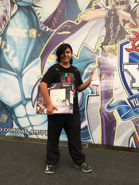 Alejandro Reyes, from Mexico, D.F., claimed the YCS Champion Sao Paulo