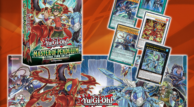 Konami details Friday's launch of Master of Pendulum Structure Deck