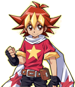 Saikyou Card Battle 3DS Protagonist