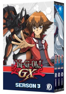 YuGiOh GX Season 3 DVD Box Set 3D