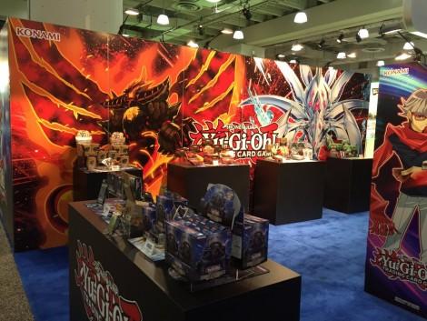 Konami Yu-Gi-Oh! TCG booth at the International Toy Fair in New York! 01