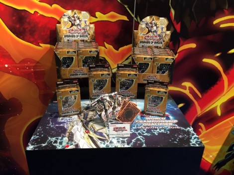 Konami Yu-Gi-Oh! TCG booth at the International Toy Fair in New York! 02