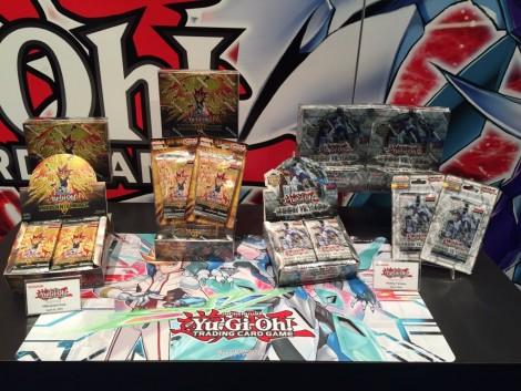 Konami Yu-Gi-Oh! TCG booth at the International Toy Fair in New York! 04