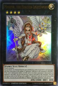 Minerva the Exalted Lightsworn - YCSW-EN-UR-LE