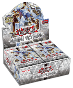 Shining Victories Yu-Gi-Oh! TCG core booster set - SHVI Mockup-Display EN