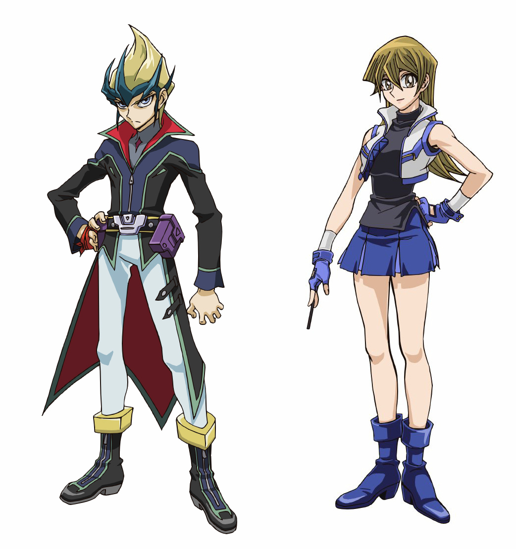 "Updated Designs For ""Yu-Gi-Oh! Arc-V "" Returning ..."